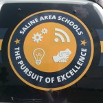 Saline Area Schools sticker